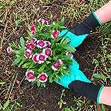 Guantes de jardinería, guantes resistentes resistentes a la espina del jardín para rosas de poda, regalo para los hombres Mujeres Jardineros