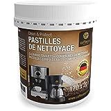 170pastilles de nettoyage Coffeeano pour machines à café Clean&Protect. Pastilles de nettoyage compatibles avec les machines