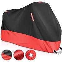 GHB Telo Coprimoto 210D Telo Moto 245 * 105 * 125cm Impermeabile Antipolvere Anti Vento Anti UV Anti Graffi con Fori per…