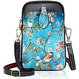 YOVIEE Damen Mini Handy Umhängetasche Kleine Handtasche Handytasche PU-Leder Kleine Schultertasche Mädchen Frauen Crossbody T