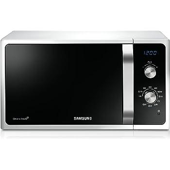 Samsung MG23F301ECW Forno a Microonde, 800 W, Grill 1100 W, 23 l, Bianco