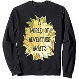 Disney Pixar Up World Of Adventure Tropical Sweatshirt