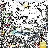 Mein Sommerspaziergang: Ausmalen und durchatmen - Rita Berman