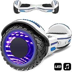 Markboard 6,5 Zoll Self banlance Scooter mit LED Motorbeleuchtung 700W Motorleistung Offroad Reifen Elektro Self Balance Scooter EL-ES01