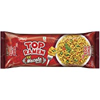 Nissin Top Ramen Super Noodles More Masala, 280g