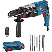 Bosch Professional Martello Perforatore Gbh 2-28 F, 880 Watt, Foratura Calcestruzzo Max: 28 mm, Inclussi Set di 6 Pezzi…