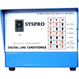 SYSPRO Computer Shield Voltage Stabilizer for Computer (100% Copper) with 2 Years Warranty and Tabletop Stabilizer (Range 170
