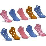 YINXIZ Calcetines deportivos para niñas y niños Calcetines coloridos Calcetines de algodón Calcetines para niños Oeko Tex® St