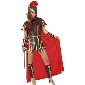 Atosa - 96781 - Costume - Déguisement De Guerrière Romaine Rouge Adulte -  Taille 2 820d88f0644