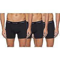 Calvin Klein Underwear Men's Trunks Pack of 3 - Cotton Stretch