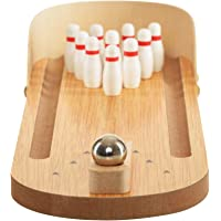 Trinkets & More® - Miniature Bowling Ball Game   Desktop Office Indoor Games   Corporate Training and Workshop   Stress…