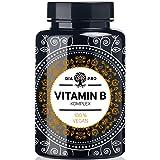 DiaPro® Vitamin B Komplex PREMIUM 200 vegane Kapseln hochdosiert mit 500 µg Vitamin B12 pro Tagesdosis insgesamt 8 B…