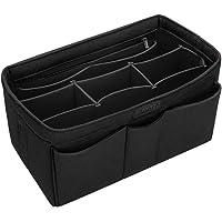 Ropch Felt Handbag Organiser Indoor Storage Bag for Women (Black, Medium)