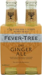 Fever Tree Fever Tree Premium Ginger Ale, 4 x 20cl
