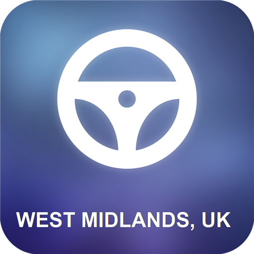 West Midlands, UK GPS