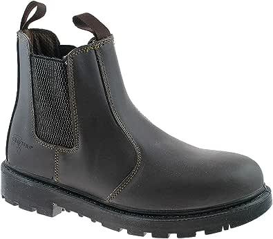 Grafters Grinder Twin Gusset Dealer Mens Safety Boots
