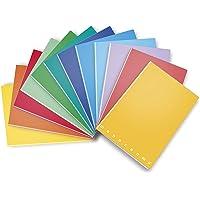 Pigna Monochrome Maxiquaderno A4 40fg+2 80gr, Confezione da 10 quaderni