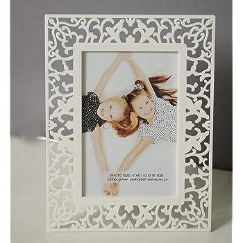 Art StreetTable Photo Frame (Color - White :: Shape -Royal)