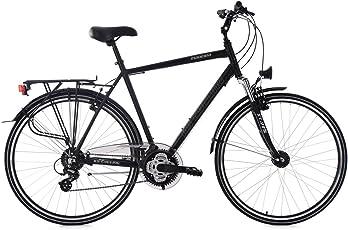 KS Cycling Herren Madeira Alu-Rahmen RH 58 cm Trekkingrad, Schwarz, 28
