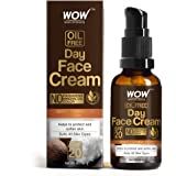 WOW Skin Science Day Face Cream - SPF 20 - with Rosehip Oil & Shea Butter - OIL FREE - Quick Absorbing - Protect & Soften Ski