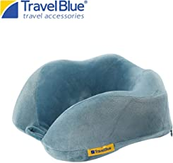 Travel Blue Blue Tranquility Memory Foam Foldable Travel Pillow