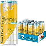 Red Bull Energy Drink Sugar Free Tropical Edition, 12 x 250ml