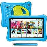 10.1 tums surfplattor för barn AWOW Tablet PC för barn, Android 10 Go Quad Core, 2GB RAM 32GB Rom, KIDOZ förinstallerad med K