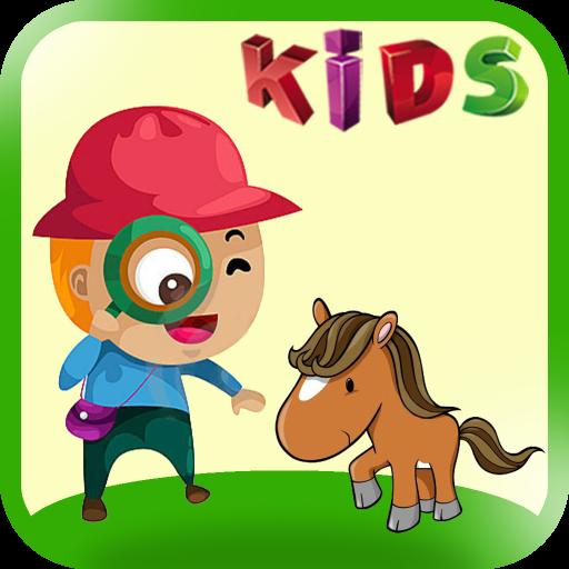 Lernen Tiere - 3 in 1 Spiele für Kinder Bildung mit Klängen und Bildern - Klang-bilder Und Bewegung