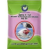 Growel Grow E-Sel - Vitamin- E,Vitamin -C,Biotin & Selenium for Pigeon, Poultry, Birds & Farm Animals- 500 gm.