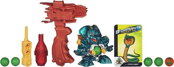 B-Daman Crossfire BD-15 Strike Cobra Figure With True Aim Barrel
