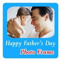 Vatertags -Foto-Rahmen