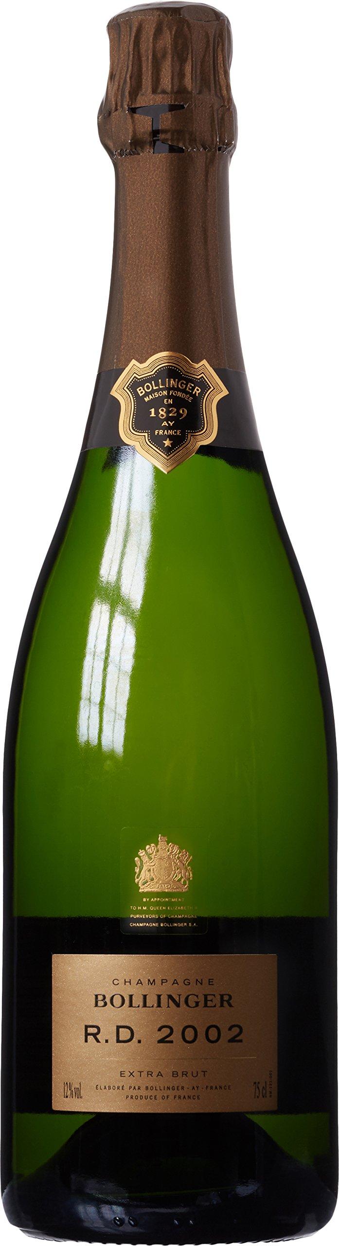 Bollinger 2002 R. D. Vintage Extra Brut Champagne, 75 cl