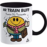 Train Buff Mug - Gift for The World's No 1 Trainspotter Enthusiast Present Gift for dad him Man