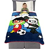 """غطاء ناعم جدًا من البلش لسرير الاطفال من فرانكو 46"""" x 60"""" A37838"""