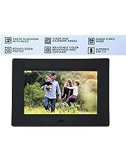 Pithadai 7 Inch Digital Photo Frames High-Definition LED Digital Screen Alarm Clock/Calendar/ MP3/Video Playback