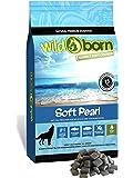 Wildborn Soft Pearl getreidefreies Hundefutter mit 75% frischem Fischfleisch | Halbfeuchtes Trockenfutter für Hunde…