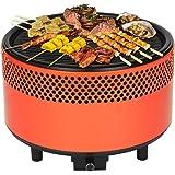 BBQ Time Barbecue à charbon sans fumée Le seul avec système