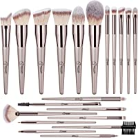 BESTOPE 20PCs Makeup Brushes Premium Synthetic Concealers Foundation Powder Eye Shadows Makeup Brushes with Champagne Gold Conical Handle