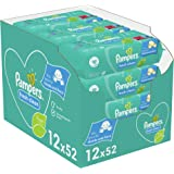 Pampers Fresh Clean Babydoekjes 12 x 52 Billendoekjes