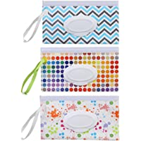 Refillable Baby Wipes Dispenser gigitube 9 Pcs Reusable Wet Wipe Pouch Travel Wet Wipe Case Baby Eco Friendly Wipe Pouches