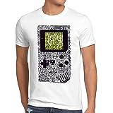 style3 8-bit Game Camiseta para Hombre T-Shirt Pixel Boy