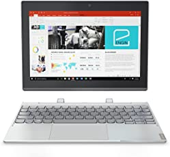 Lenovo Miix 320 25,7 cm (10,1 Zoll Full HD) Tablet-PC (Intel Atom Z8350, 4GB RAM, 64GB eMMC, Windows 10 Home) silber