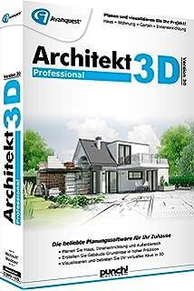 Architekt 3d 20 Professional Amazon De Software