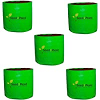 Seed 2 Plant 12x12 HDPE Vegetable Grow Bags (Pack of 5) 240 GSM