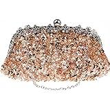 N/A DJBYY Frauen-Abend-Beutel-Umschlag-Kupplungs-Handtaschen-Hochzeit Brauthandtasche, Größe 26 * 3 * 13cm