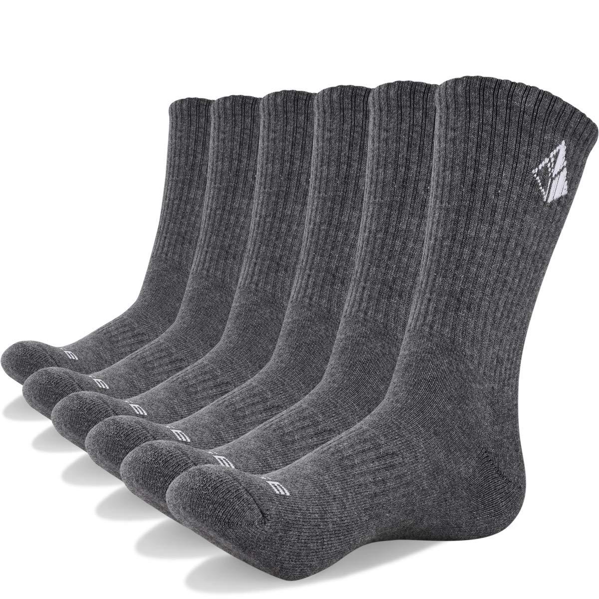 6 Paar atmungsaktive Baumwollsocken