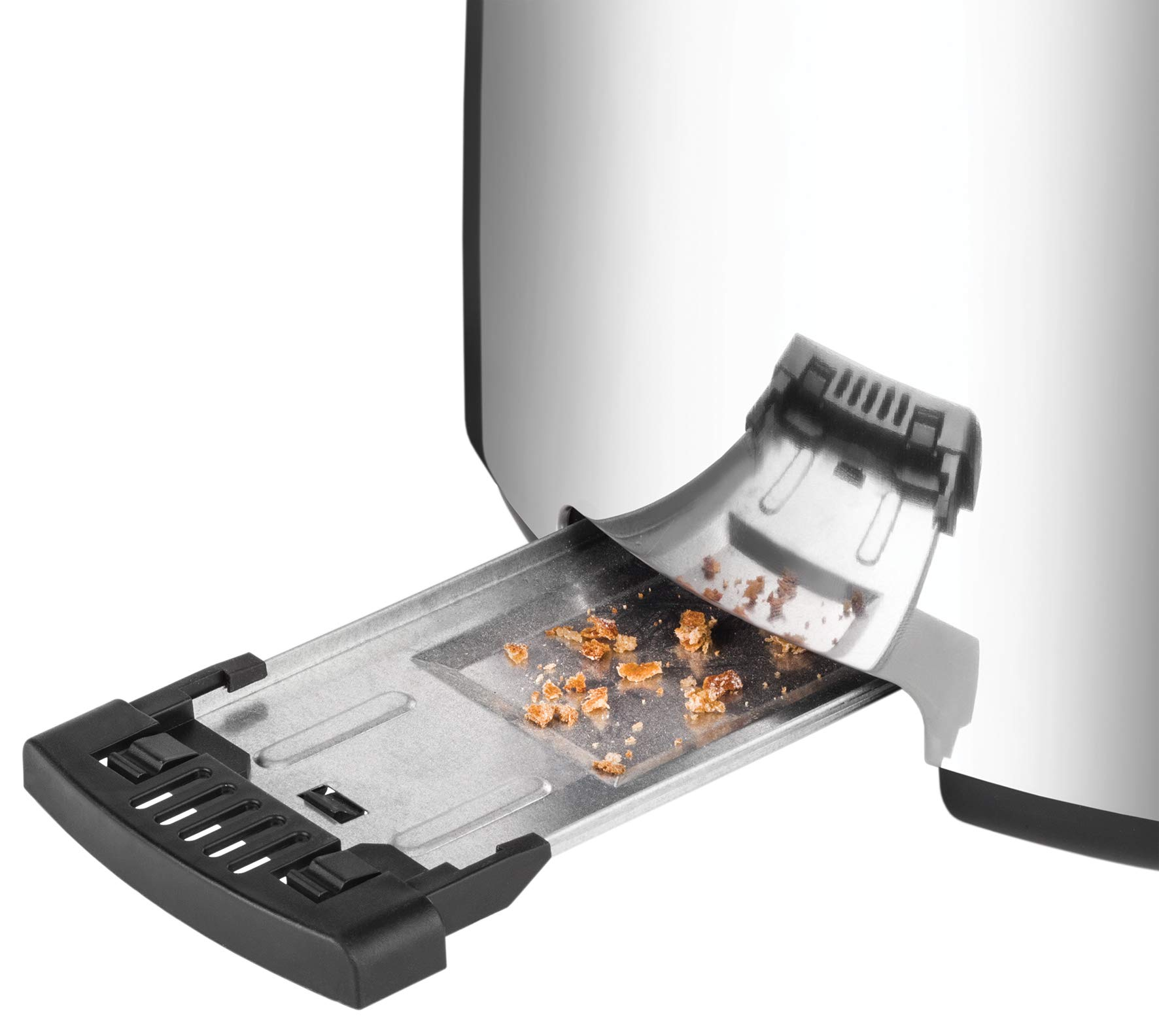 Unold-38366-Toaster-4er-Retro-1500-W-2-Scheiben-Doppel-Langschlitz-Toaster-Edelstahl-4-Funktionen-7-Rstgrade-entnehmbare-Krmelschublade-mit-abnehmbarem-Brtchenaufsatz