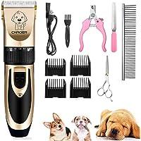 Eyeleaf Tosatrice per Cani Professionale, Tosatore Elettrico per Gatti Pelo Lungo Ricaricabile con Toelettatura…