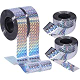 SYOSI 4 PCS Bird Repellent Scare Tape - Keep Away Pigeons, Ducks, Crows and More - Deterrent Works, 80m x 2.4cm