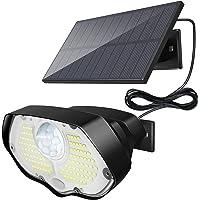 106 LED Lampe Solaire Extérieur, KOLPOP IP65 Étanche Applique Eclairage Exterieur Solaire Sécurité Avec Detecteur de…